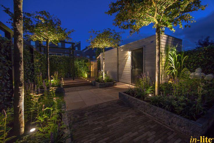 Levend groen | Border | Platanen | Tuinverlichting | Buitenspot SCOPE | Wandlamp FISH EYE | Inspiratie