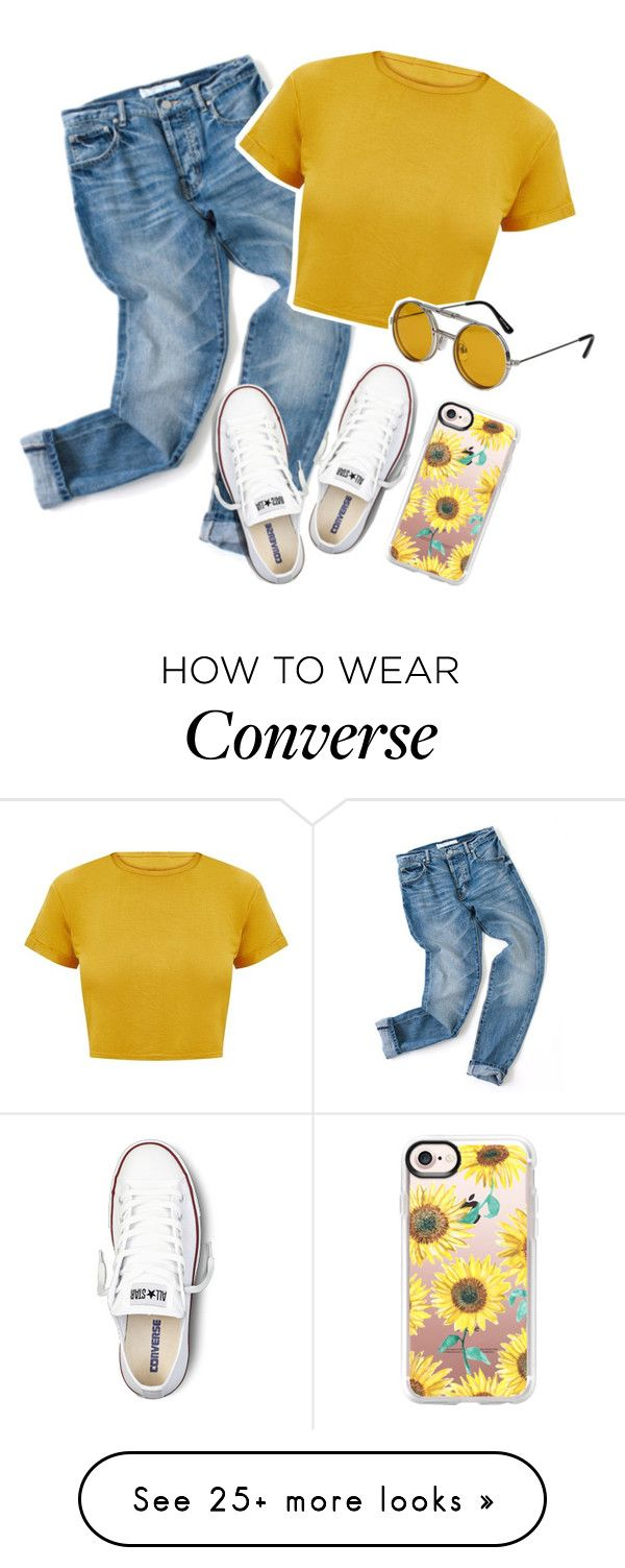 """""""Untitled #154"""" by xfatimaxo on Polyvore featuring Converse, Spitfire and Casetify"""