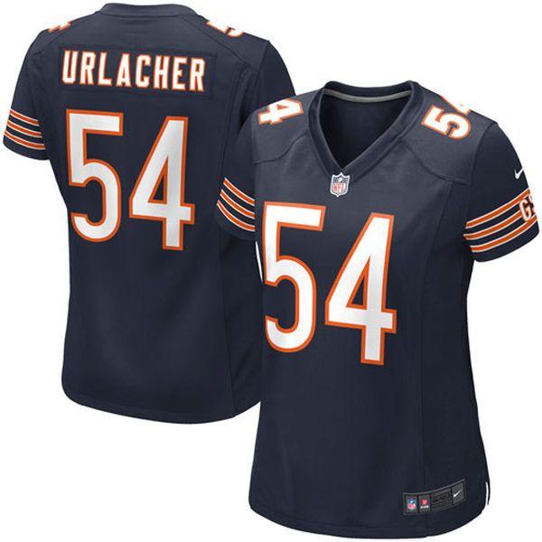 Brian Urlacher Chicago Bears Nike Women's Game Jersey – Navy Blue - $94.99