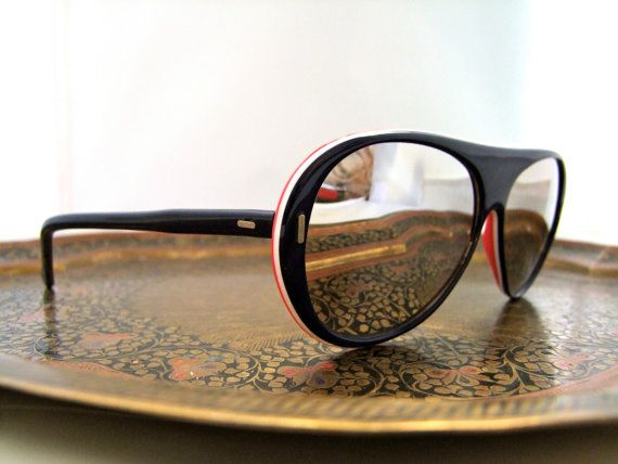 Sweeet Uvex Ski Sunglasses 1970s Germany high by ifoundgallery,