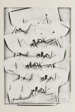 Bruno Munari -Xerografia Originale 1968
