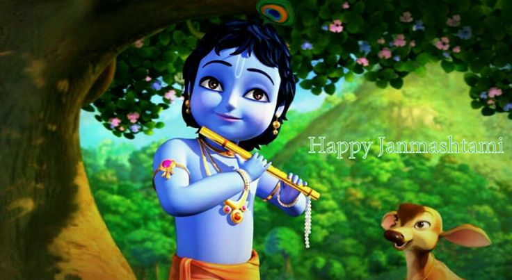Janmashtami celebrates the birth of Lord Krishna. Ashtami is significant as it indicates a perfect balance between the seen and the unseen aspects of reality; the visible material world and the invisible spiritual realm. @Sri Sri Ravi Shankar   Nand Ghar Anand Bhayo...Jai Kanaya Lal Li...! Jai Kanaya Lal Ki...Hathi Ghoda Palakhi...! Happy #Janmashtami...!