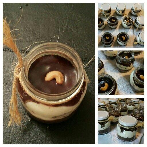 #cheesecake de chocolate individual