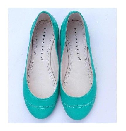 ooh, want. etsy find. great color. eco friendly leather flat summer shoe