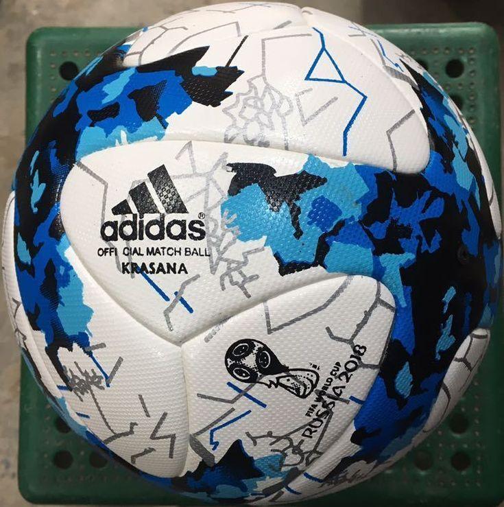 Adidas Krasana Fifa World Cup 2018 Russia Soccer Ball Thermal Replica Size 5 Discount Price 59 99 Free Shipping Buy It Now So Soccer Ball Soccer Fifa World Cup