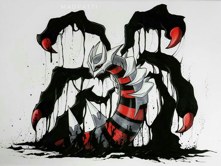 Giratina Daily Pokemon Art Board ^^ // Digital // Geek // #Geek #PokemonArt #Art…