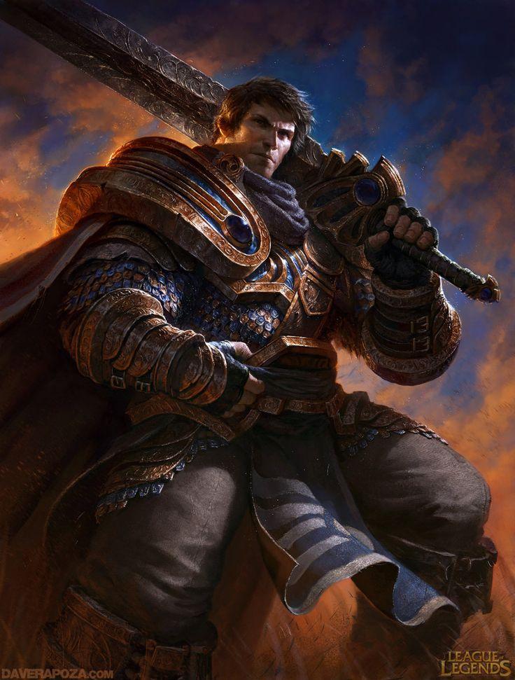 Garen League of Legends by DavidRapozaArt.deviantart.com on @deviantART