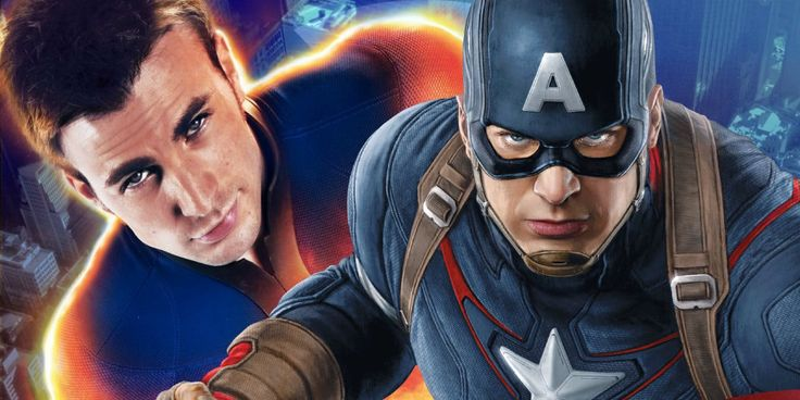 Chris Evans Jokes About Captain America & Human Torch Buddy Film