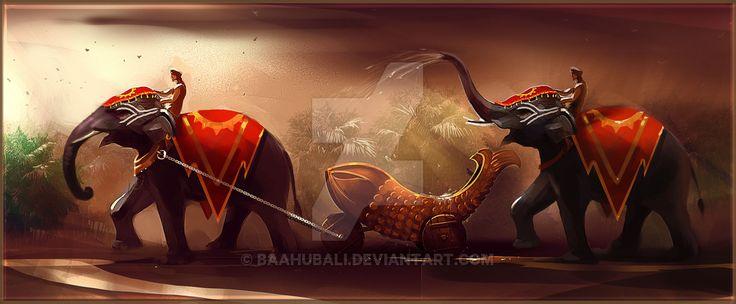 Mahishmathi Kingdom Symbols by Baahubali.deviantart.com on @DeviantArt