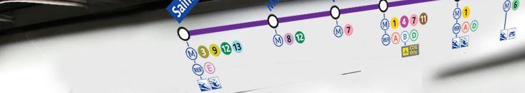 Plans Métro