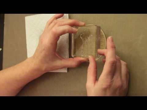 Stamping with Bleach - Tutorial