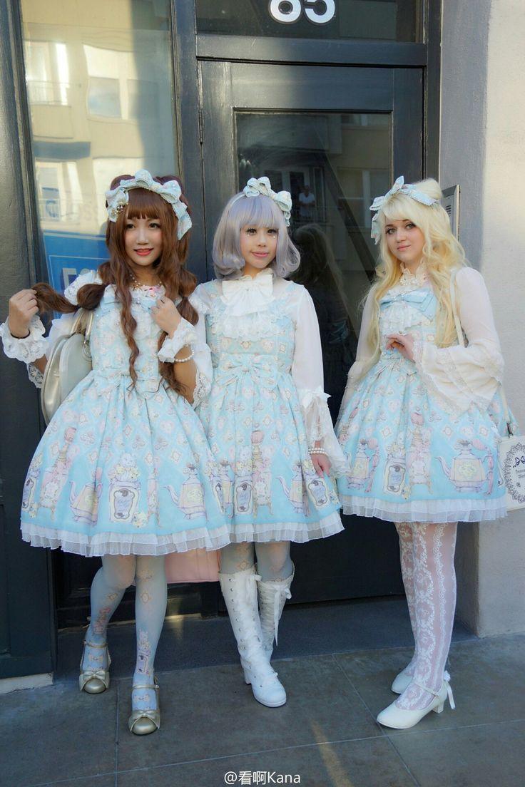 2857 best lolita and cuteness images on Pinterest | Lolita fashion ...