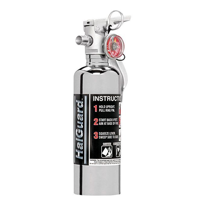H3r Performance Hg100c Halguard Chrome Clean Agent Fire Extinguisher 1 4 Lbs Fire Extinguisher How To Clean Chrome Fire