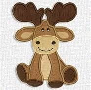 moose applique