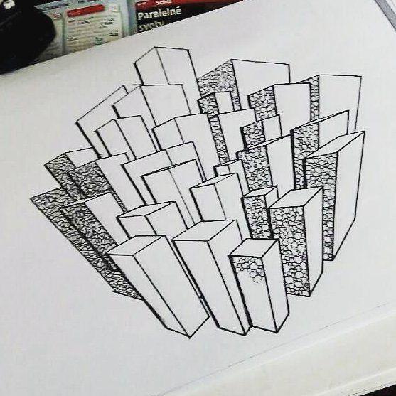 Budovečky :3 #art #artschool #architecture #draw #drawing #love #paint  #color #paper #artist