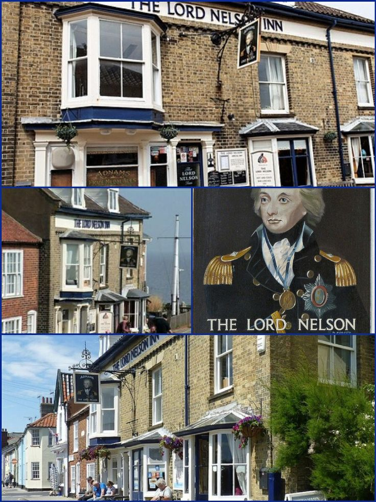 The Lord Nelson Inn, Southwold, Suffolk England.