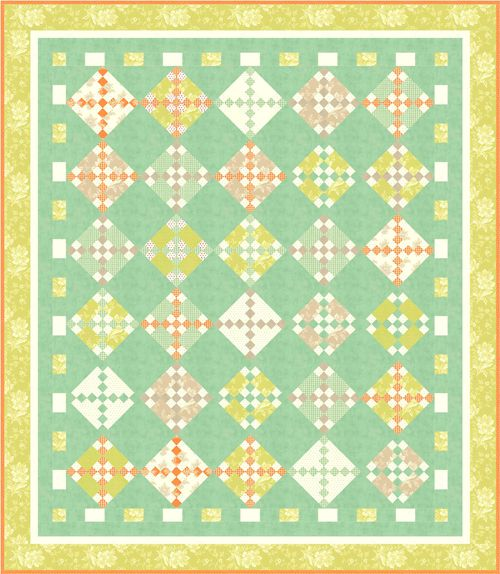painted ladies quilt pattern pdf