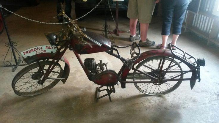 Motor cycle in Pilgrims Rest
