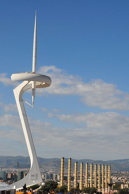 Barcelona Montjuic Communications Tower -Barcelona  #holiday #vacaciones #alquilervacacional