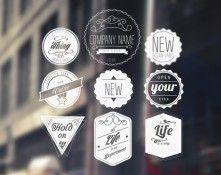 Retro Badges | Designers Revolution Vector Art Resources DownloadDesigners Revolution Vector Art Resources Download