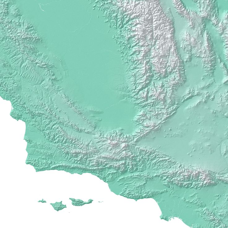 San Jose Calif Map%0A California Map Print  Aqua Landscape  california  map
