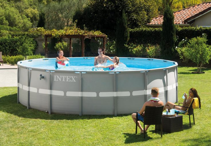 16ft X 48in Ultra Frame Pool Set - Ultra Frame® - Above Ground Pools - Store - Intex