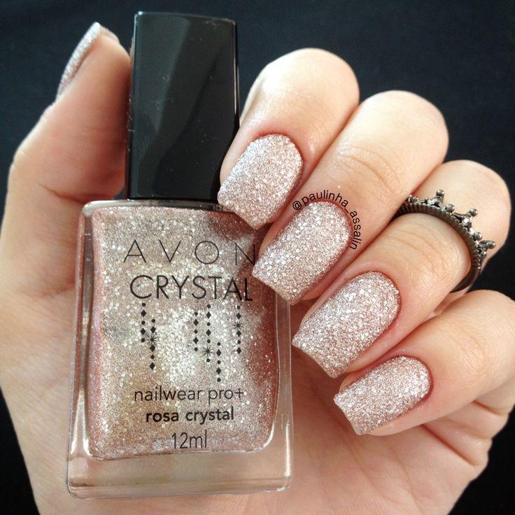 Swatches: Esmaltes Avon Crystal. — Niina Secrets