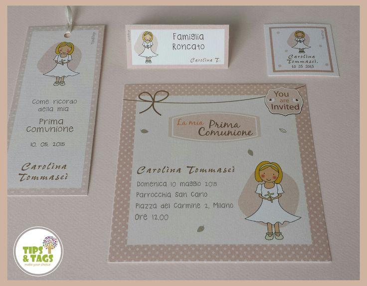 Inviti Prima Comunione_bambina