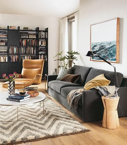 A Shapely Swivel Seat Inspired By Mid Century Design Our: 91 Best Modern Sofas Images On Pinterest