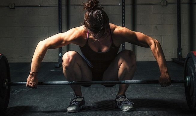 Queen of #CrossFit: Julie Foucher