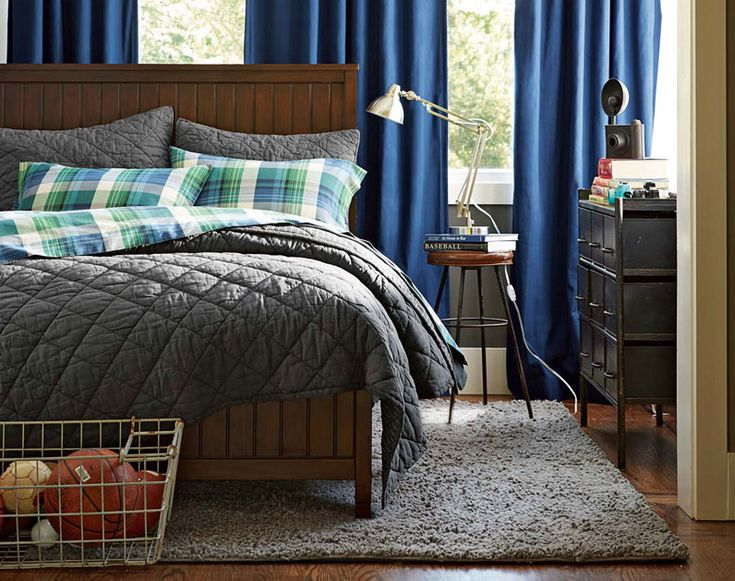 The PBteen Design Team Shares Teenage Guy Bedroom Ideas Focuses On  Balancing Contrasting Styles U2014 From Traditional Bedding To Industrial Decor. Part 52