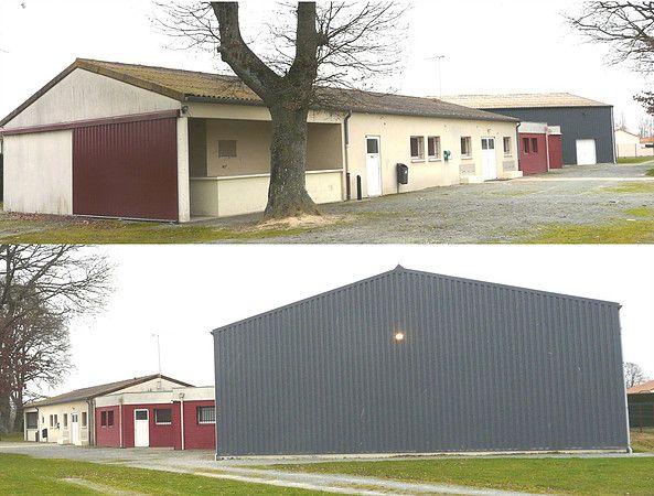 Équipements sportifs - Vestiaire et salle de tennis de table - La Ferrière