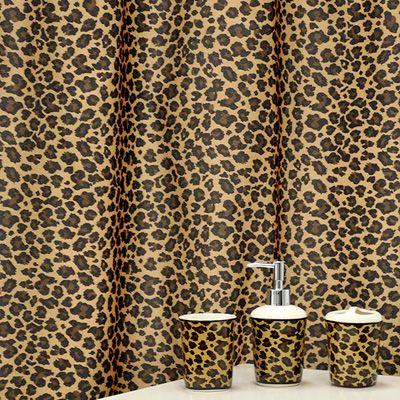 leopard print bathroom accessories   Famous Home Fashions Leopard 16-Piece  Bathroom Accessory Set   - Best 25+ Leopard Print Bathroom Ideas On Pinterest Cheetah Print