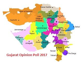 Gujarat Opinion poll 2017 Election Survey Result Predictions BJP AAP INC ABP News AAJ Tak CSDS CVoter  Exit poll Constituency Party Wise