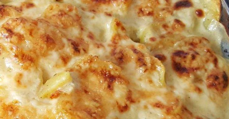Schnelles Kartoffelgratin