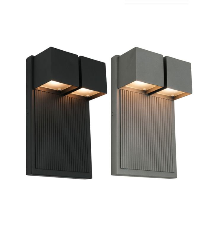 Tucson+12w+LED+2+Light+Exterior+Wall+Light+-+IP44+Rated+-+Black+or+Pewter+-+Cougar+Lighting+(copy), $219.00