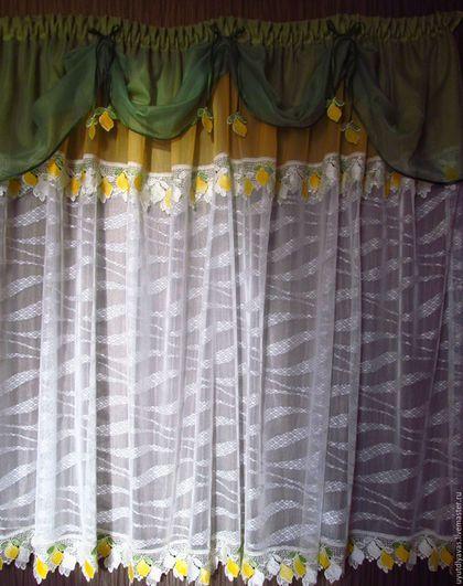 Текстиль, ковры ручной работы. Ярмарка Мастеров - ручная работа. Купить лимончики. Handmade. Зеленый, сетка, вуаль,…