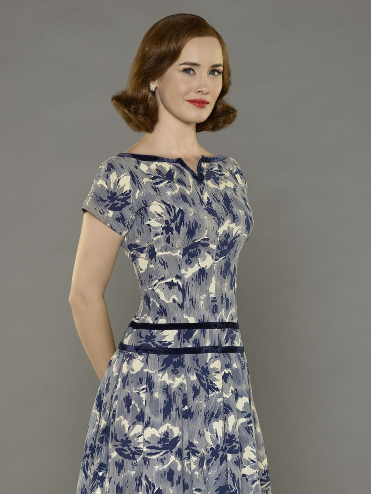 Dominique McElligott as Louise Shepard - 1960s fashion