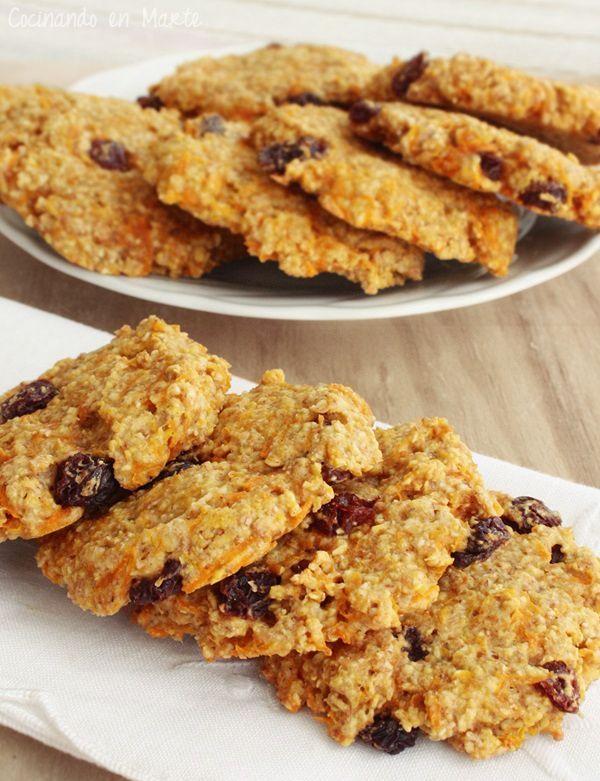Cocinando en Marte: Carrot cake oatmeal cookies {Galletas de avena y zanahoria}