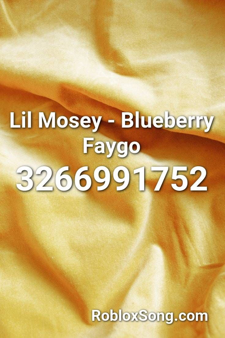 Lil Mosey - Blueberry Faygo Roblox ID - Roblox Music Codes ...