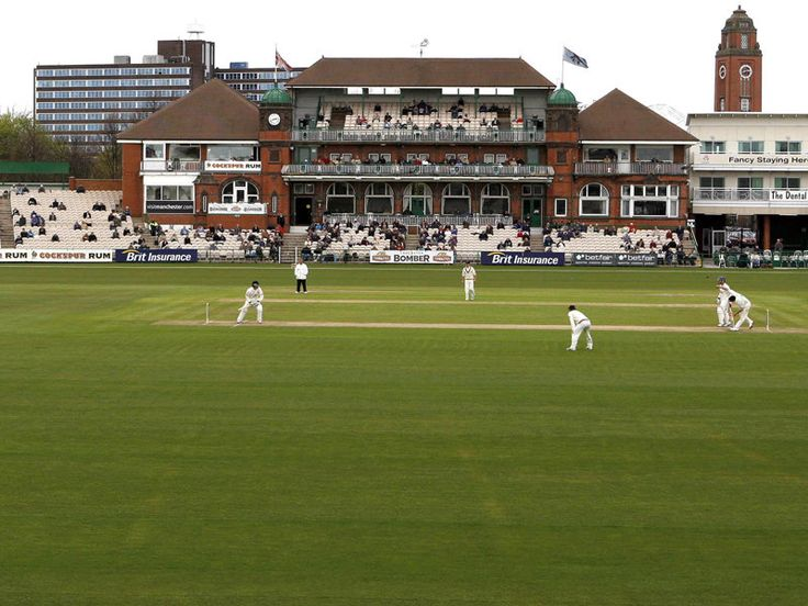 Old Trafford Manchester, Lancashire County Cricket Club, England.