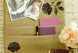 Burlap Cork Board - Uncommon Designs...