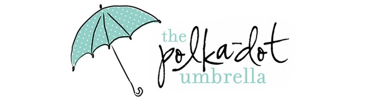 The polka-dot umbrella