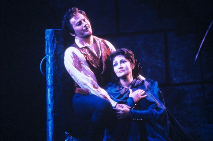 Great Romanian soprano Maria Slatinaru Nistor & Giuseppe Giacomini -Tosca- San Francisco Opera 1985