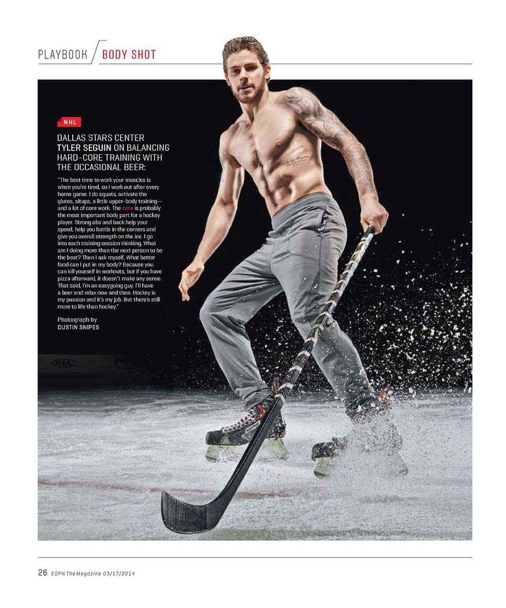 Tyler Seguin  Espn The Magazine 03172014  Puck -4125