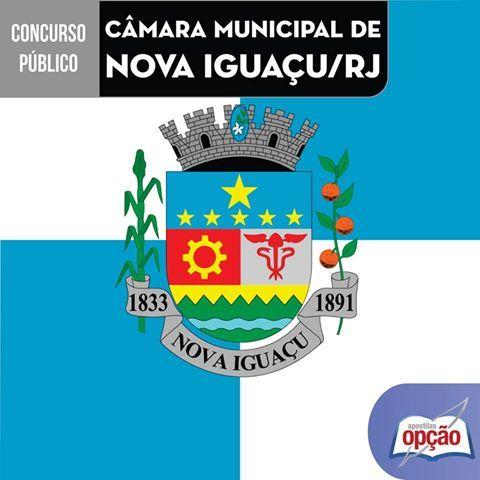 Apostilas Concurso Câmara Municipal de Nova Iguaçu / RJ - 2016: - Cargos: Técnico Legislativo, Auxiliar de Serviços Gerais, Agente Administrativo, Auxiliar Administrativo, Auxiliar Legislativo, Telefonista, Garçom, Técnico em Enfermagem e Comum ao Empregos de Nível Médio/Técnico e Superior