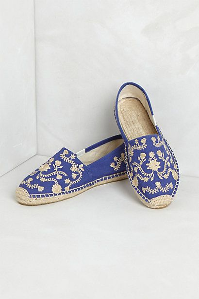 cute embroidered espadrilles from Anthropologie.