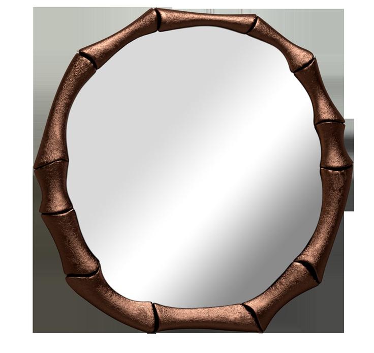 HAIKU Kupfer Spiegel | In der traditionellen chinesischen Kultur den Bambus vertritt Aufrichtigkeit und Beharrlichkeit | Wohndesign | Wohnzimmer Ideen | BRABBU | Einrichtungsideen | Luxus Möbel | wohnideen | www.brabbu.com