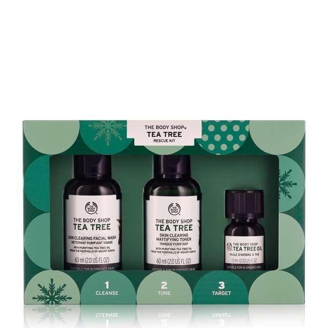 Tea Tree Gift Set Skincare Gifts The Body Shop Body Shop Tea Tree Skin Care Gifts Cosmetic Gift Set