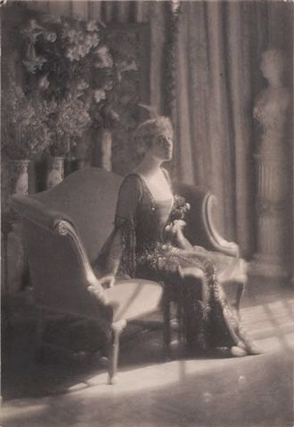 Portrait of Mrs. John Jacob Astor (Madeleine Force), 18, was the wife of millionaire John Jacob Astor , they had been on an extended honeymoon in Egypt and Paris and, in the spring of 1912, decided to return to America as First Class passengers on board the brand new Titanic .